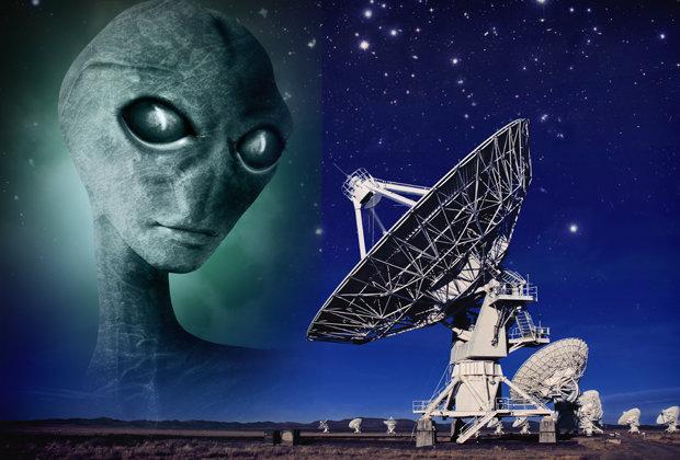 transmissões de alienígenas