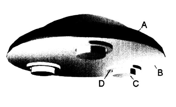 Patente de nave antigravitacional agora está em domínio público 2