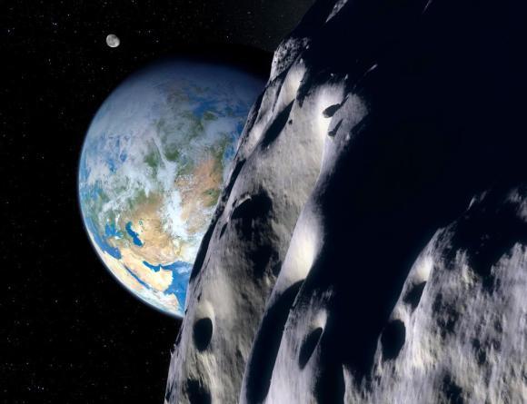 Grande asteroide passa próximo da Terra