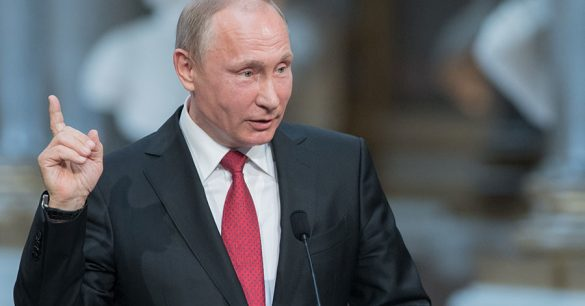 Putin de novo!  Agora ele fala sobre os Homens de Preto 1