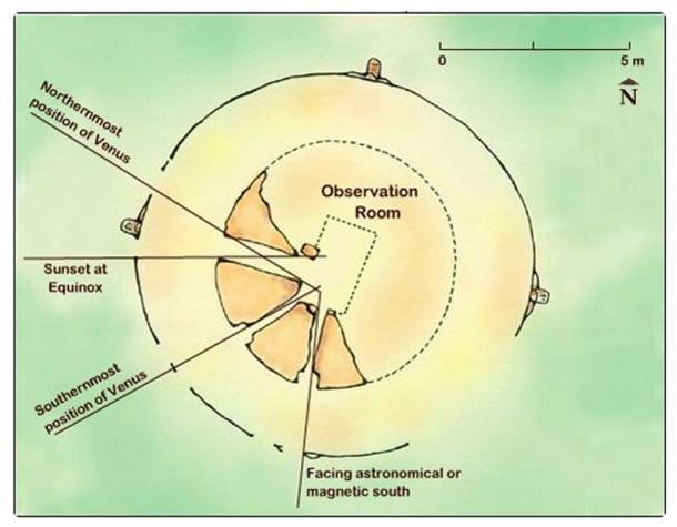 Engenharia avançada é encontrada em observatório maia 7