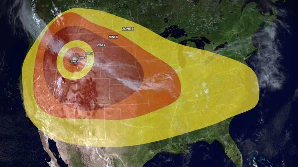 """O vulcão Yellowstone """"está prestes a explodir e o governo está escondendo"""""""