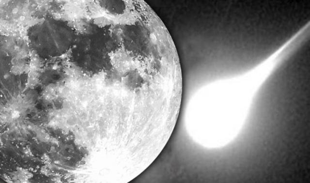 maior explosão já vista na Lua