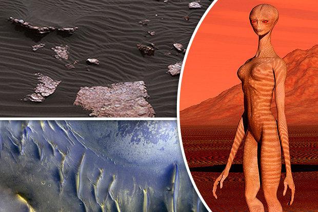 esperanças de vida em Marte