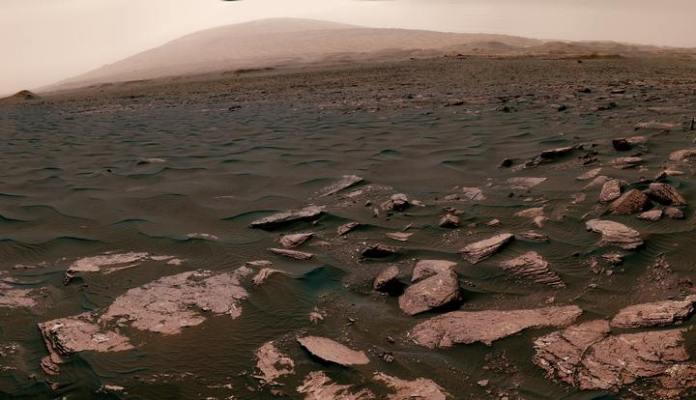 vida microbiana em Marte
