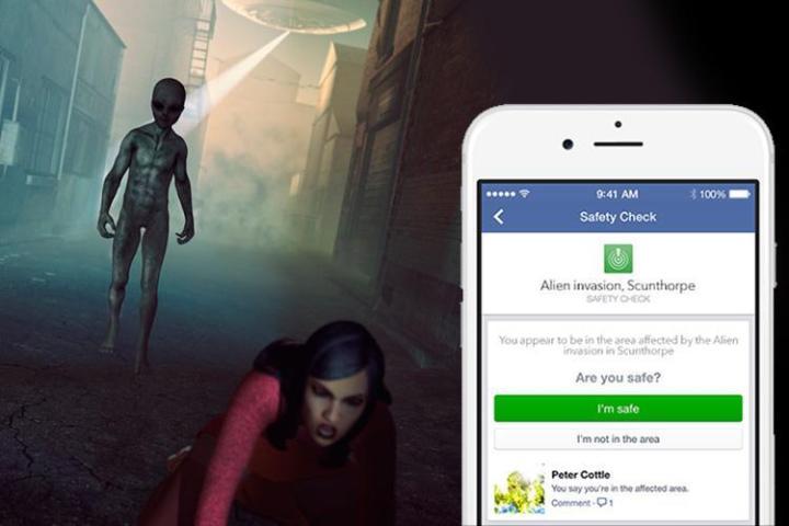 se alienígenas invadissem a Terra