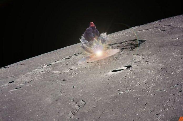 bomba nuclear na Lua