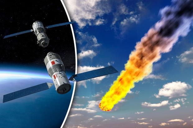 Estação espacial chinesa poderá cair nos EUA