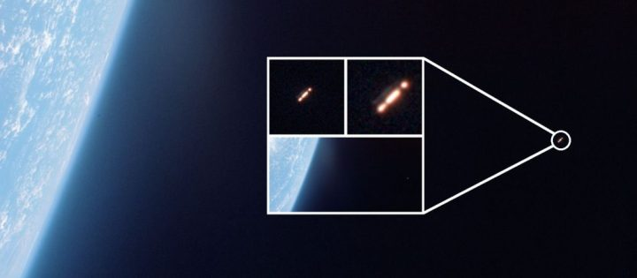 OVNI orbitando a Terra