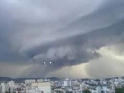 Atividade intensa de OVNIs em Porto Alegre