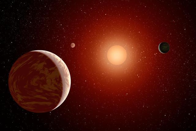 enorme planeta que não deveria existir