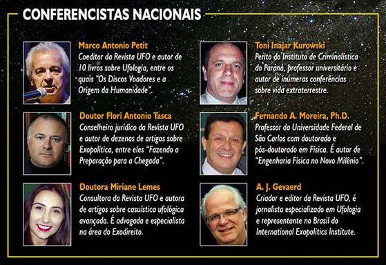 Curitiba sediará Seminário de Preparação para o Contato Extraterrestre 2