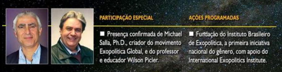 Curitiba sediará Seminário de Preparação para o Contato Extraterrestre 1