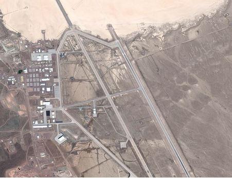 Atividade incomum intensa é registrada na Área 51