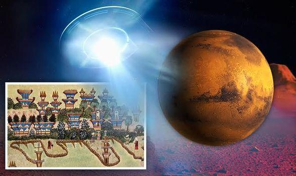 A mulher que diz ter visitado Marte