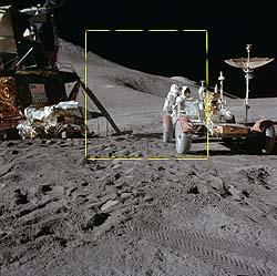 Análise de fotos da Lua colocam dúvida sobre pouso lunar 3