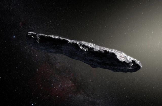 o misterioso objeto que alguns astrônomos consideram ser uma nave alienígena