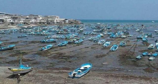 Mar recua no Equador e deixa habitantes receosos