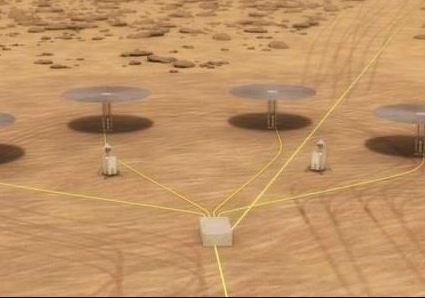 Reatores nucleares em miniatura poderão ser usados em Marte