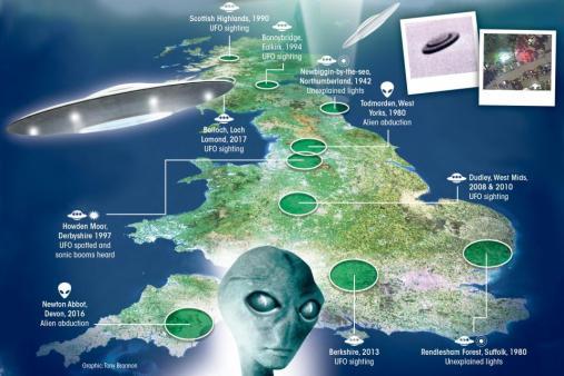 Governo britânico libera último lote de arquivos secretos sobre OVNIs