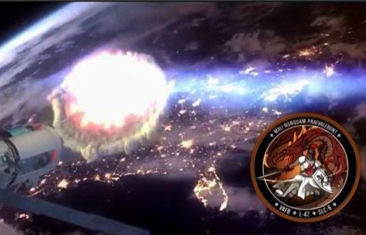Estariam as potências combatendo um mal vindo do espaço