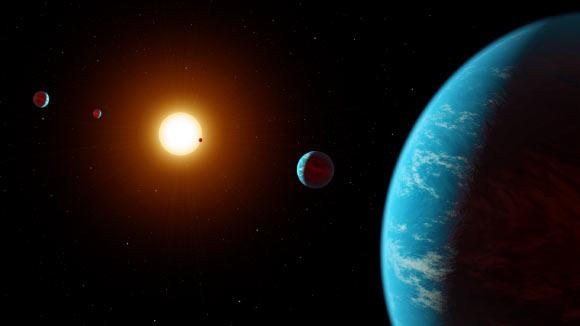 Cinco novos exoplanetas são encontrados. Agora já são milhares, e o número está aumentado 1