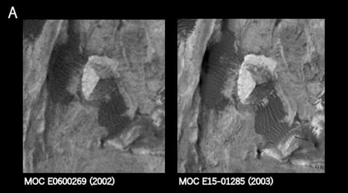 Pirâmide de três lados encontrada em Marte pode ser artificial