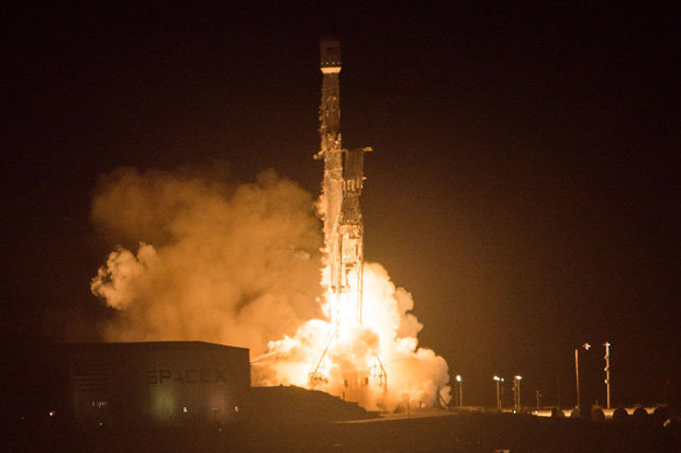Lançamento ultra-secreto da SpaceX acaba em desastre