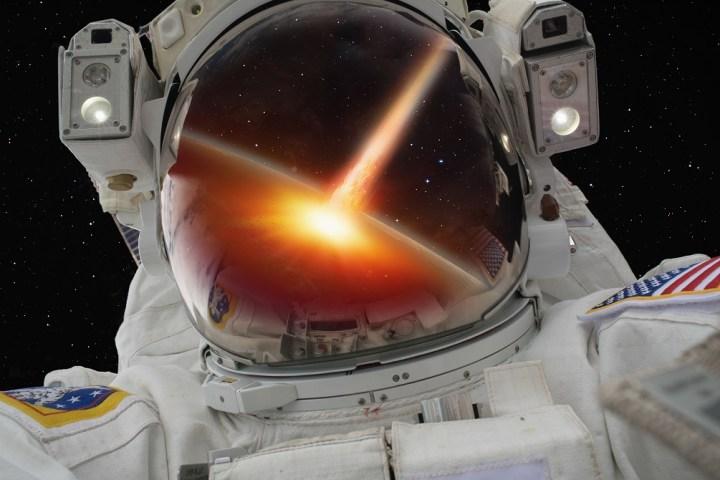 ataque vindo do espaço
