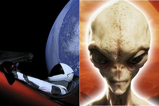 Elon Musk dá dica aos alienígenas
