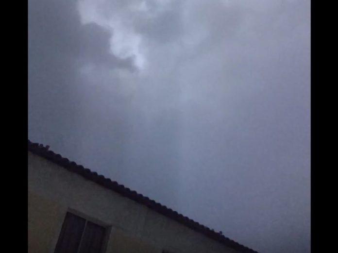 tempestades estranhas no Rio de Janeiro