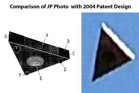 nave antigravitacional triangular é fotografada na Flórida