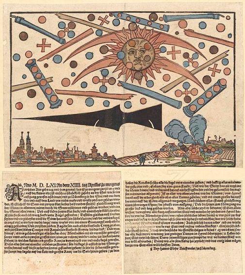 3 registros de avistamento de OVNIs da antiguidade 1