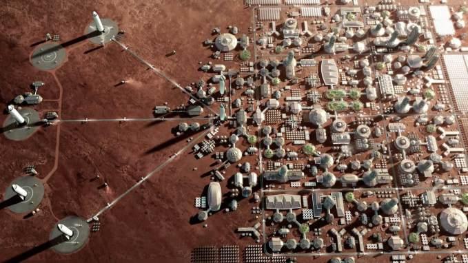 Planos de Musk para colonização de Marte