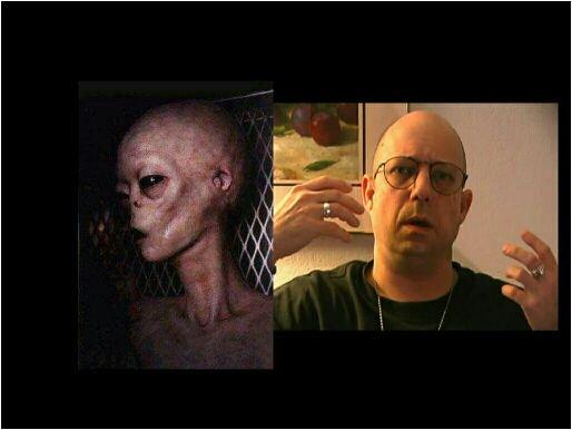 alienígena em cativeiro