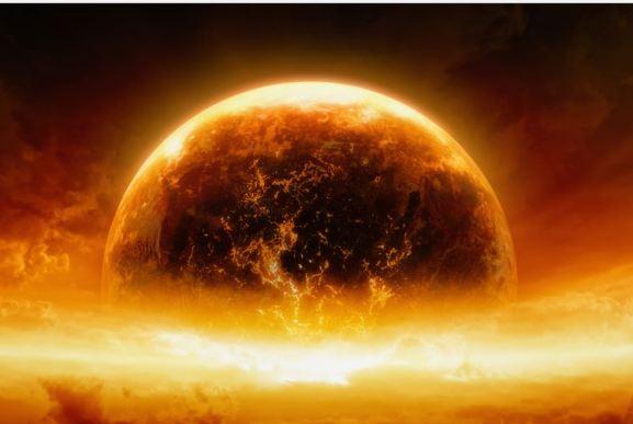 Planeta desgarrado entrará em nosso sistema solar