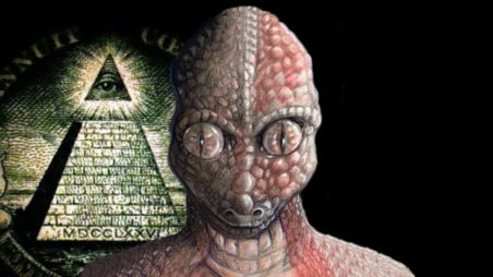Contato humano com reptilianos