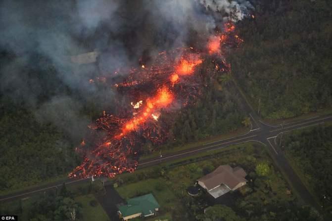 Erupção de vulcão no Havaí pode causar mega-tsunami na costa oeste dos EUA 1