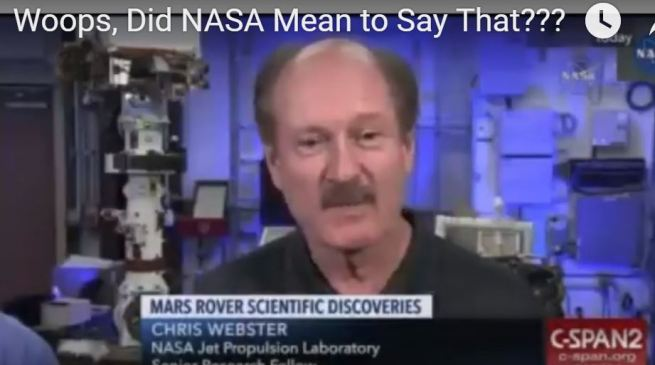 Teria a NASA quase anunciado acidentalmente a vida em Marte