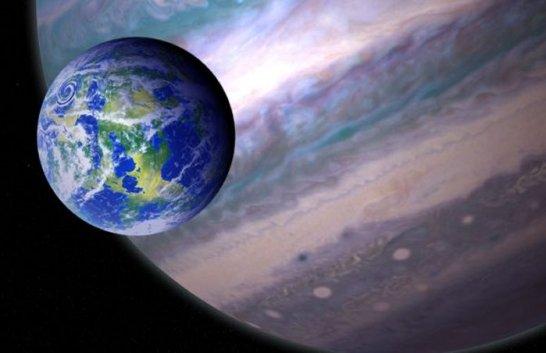 Astrônomos descobrem 121 planetas gigantes cujas luas podem abrigar a vida