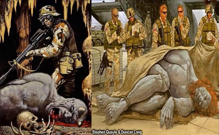 Soldado americano alega ter matado gigante no Afeganistão