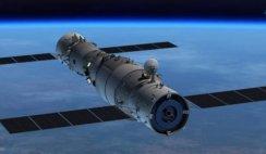 estação espacial chinesa se comporta de forma estranha
