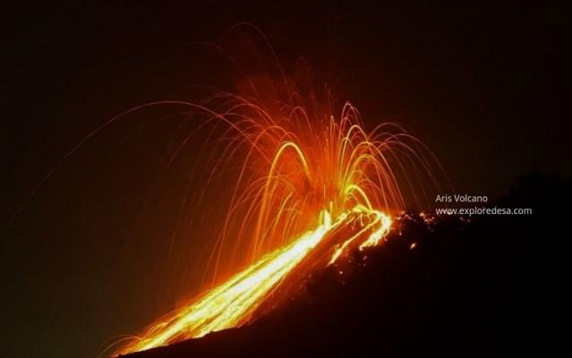 Atividade vulcânica ao redor do mundo nos últimos dias 1