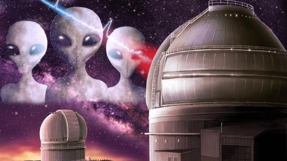a humanidade está tão obcecada em encontrar alienígenas