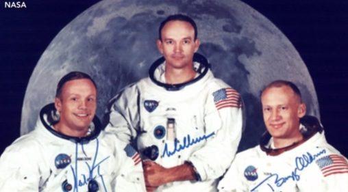 Gravações da viagem à Lua são descobertas depois de 49 anos 1