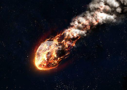 Força Aérea dos EUA em silêncio após meteoro explodir