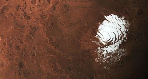 Marte contém oxigênio suficiente para suportar a vida 1