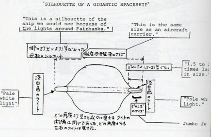 Documento de 1.500 páginas é publicado sobre o avistamento de OVNI pelo voo JAL 1628 2