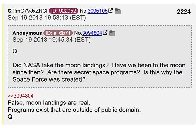 Q confirma o Programa Espacial Secreto e a vida extraterrestre 2