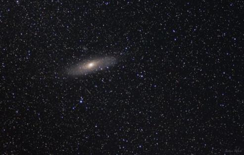 Andromeda será visível a olho nu